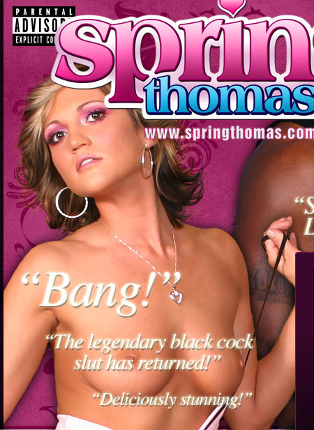 Spring Thomas Loves Black Dick